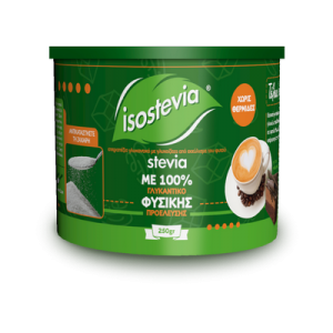 Isostevia Γλυκαντικό Με Στέβια 250gr
