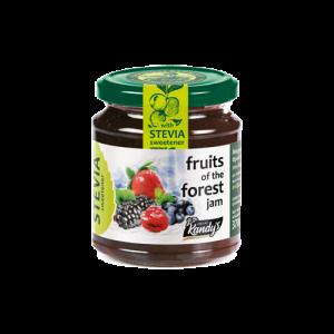 Μαρμελάδα 6 Φρούτα του Δάσους με Στέβια