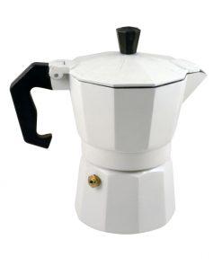 Καφετιέρα Espresso Άσπρη 3Cups