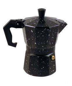 Καφετιέρα Espresso Μαύρο Άσπρο 3Cups