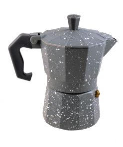 Καφετιέρα Espresso Γκρί Άσπρο 3Cups