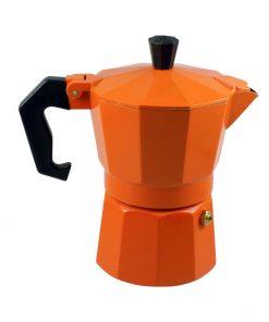 Καφετιέρα Espresso Πορτοκαλί 3Cups