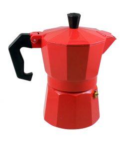 Καφετιέρα Espresso Κόκκινη 3Cups