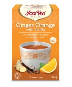 YOGI TEA GINGER ORANGE BΙΟ 30,6ΓΡ