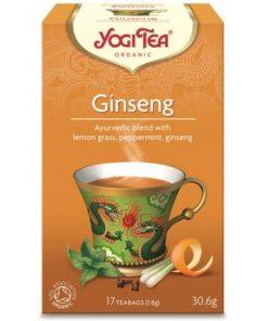 YOGI TEA GINSENG ΒΙΟ 30,6ΓΡ